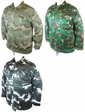 Cotton Zip Neck Military Men's Coats & Jackets