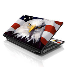 "17.3"" 18"" 19"" Laptop Notebook Skin Sticker Protective Decal USA Eagle L-A24"