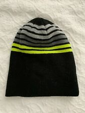 Faded Glory Boy's One size Beanie Black/Green Good condtion!