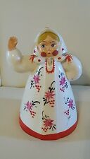 Vintage 1967 Lakeside Toy Company dutch lady doll plastic toy