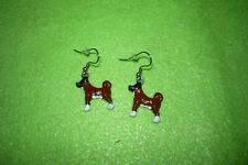 Akita Dog Earrings