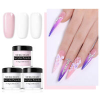 NICOLE DIARY 10g Acrylic Powder Tip Extension Carved Flower Dust Nail Art Kit