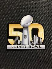 SUPERBOWL 50 2016 Helmet Decal NFL Carolina Panthers Denver Broncos Skyline