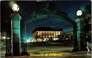Picture Postcard; University Of California, Sather Gate POSTED 1963