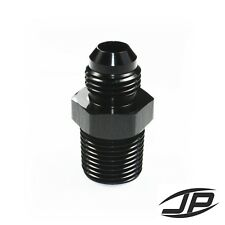 Straight Adapter 6 AN to 3/8 NPT Fitting Black HIGH QUALITY!