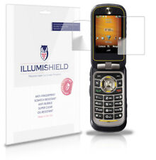 iLLumiShield Anti-Bubble/Print Screen Protector 3x for Motorola Brute i680