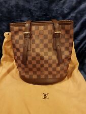Authentic LV Louis Vuitton Damier Ebene Marais Petit Bucket Bag
