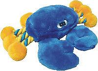 "Petlou 19"" Rope Crab Dog Toy"