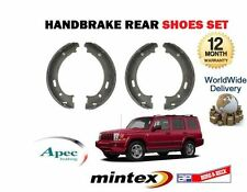 FOR JEEP COMMANDER 3.0TD 4.7i 5.7i  2005--> NEW REAR HAND BRAKES SHOES SET