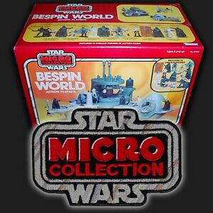 """Kenner Star Wars """"Micro Collection"""" toy logo 4"""" embroidered patch"""