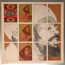 U. Roy – U. Roy Vinyl LP UK 1974 Superb copy!
