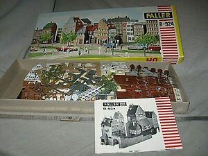 A6436 HO FALLER B924 GERMANY RESTAURANT & HOTEL, plastic kit