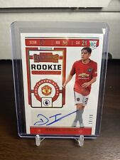 2019/20 Panini Chronicles Daniel James /99 Rookie Ticket Auto RC Manchester