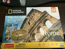 National Geographic 3d Puzzle The Colosseum Architecture Model Kit