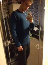 Blue long sleeve jumper/ Medium