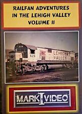 Mark I Video -RAILFAN ADVENTURES IN THE LEHIGH VALLEY - VOL. 2 - DVD