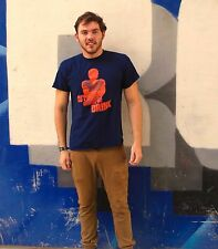 JAY CUTLER MAKES ME DRINK Navy 100% Cotton Size M T-Shirt