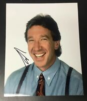 Tim Allen Home Improvement Signed 8x10 Photo Authentic Autograph Auto