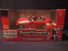 TRANSFORMERS Alternators Windcharger Honda S2000 Action Figure 2004 Hasbro