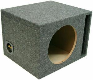 "Car Audio Single 15"" Vented Subwoofer Stereo Sub Box Ported Enclosure"
