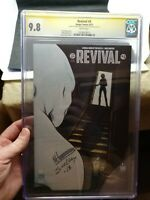 Revival #3 SS CGC 9.8 White Pages Signed by Mike Norton/ Jenny Frison cover art