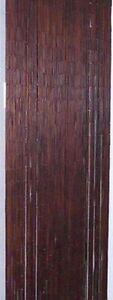 == Bamboo Door Dooring Screen Curtain Divider - Plain Brown - Rideau en Bambou =