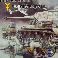 Blitzkrieg Addon 16. División Panzer II