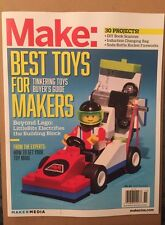 Make: Best Toys For Makers Buyer's Guide DIY Lego Oct Nov 2014 FREE SHIPPING!