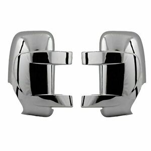 2010-2021 RENAULT MASTER/NISSAN NV400/MOVANO CHROME WING MIRROR COVER ABS