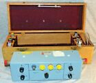 Vintage Dielectric Smith Chart Impedance Plotter Model 1000P w/ Case & More