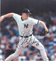 """Signed Jeff Nelson New York Yankees Autographed 8""""x10"""" Photo Pic NY MLB Baseball"""
