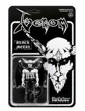 Super7 Heavy Black Metal Venom Goat Head  ReAction Action Figure