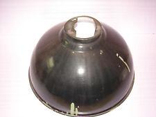 Joli ancien abat-jour, lustre, tôle émaillée, diam. : 53,5 cm, usine, loft