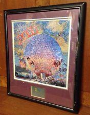 Walt Disney World 2000 Epcot Spaceship Earth Icon of the Celebration Fantasia LE