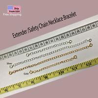 """Extender  Safety Chain Externder Necklace Bracelet Spring lock 3"""" or 6"""""""
