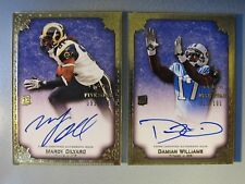 (2) 2010 Topps Five Star RC AUTO GOLD AMG ADW Damian Williams Mardy Gilyard LOT