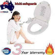 AU Luxury Electric Toilet Bidet Seat Cover Auto Massage Smart Warm Water Dry AU
