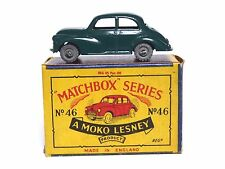 Matchbox Lesney No.46a Morris Minor 1000 B3 MOKO Box (DARK GREEN, MW, VVN MINT)