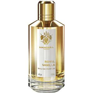 MANCERA Royal Vanilla  EDP 120 ml./4 fl oz in box. free shipping