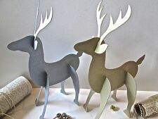 Reindeer Christmas Table Decorations and Settings