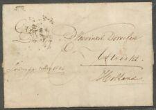 GRENSST.ROOD ENGELAND OVER ROTTERDAM OP AZ.BRIEF LONDON-UTRECHT 1 MEY 1846 Zi154