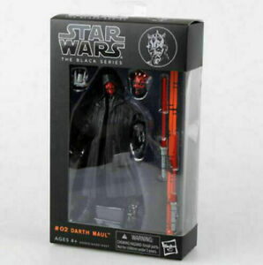 """6""""Action Figure Darth Maul :Star War  Gift With Box the Black Series 2021 New"""