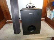 Sony SS-WCT60 Speaker System with Subwoofer & Soundbar