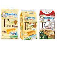 Mulino Bianco Kuchen Flauti Stracciatella Schokolade, Milch 3 x 8 snack