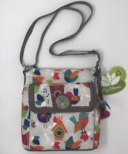 LILY BLOOM JENNA CROSSBODY BAG FEATHER WEATHER NWT 21RPG78LB-FW