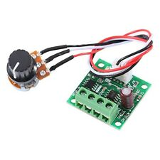 12V DC Motor Speed Controller Adjustable Volt DC 1.8V to 15V Low Voltage Regu...