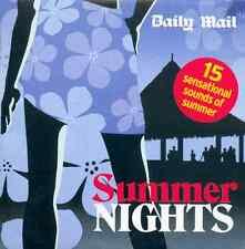 SUMMER NIGHTS - PROMO CD: DRIFTERS, KIM CARNES, ROXY MUSIC, jR WALKER, AALIYAH