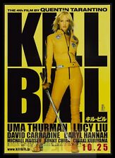 Poster A3 Kill Bill Quentin Tarantino Uma Thurman Pelicula Film Cartel 02