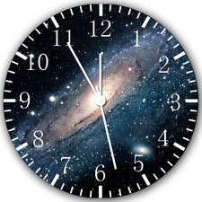 Space Frameless Borderless Wall Clock Nice For Gifts or Decor Z108