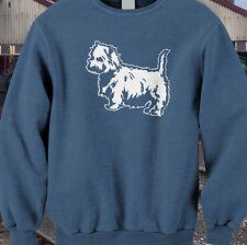 Westie terrier Eastfield class 37 model railway sweatshirt